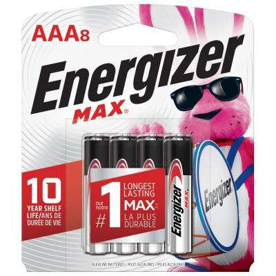 MAX Alkaline AAA Battery (8-Pack)