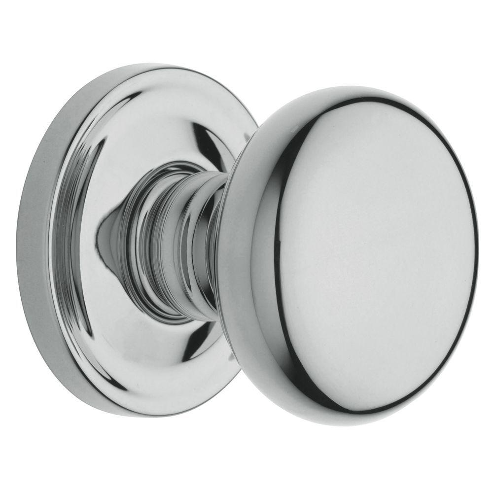 Baldwin Estate Classic Polished Chrome Bed/Bath Knob
