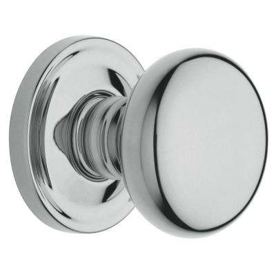 Estate Classic Polished Chrome Bed/Bath Knob