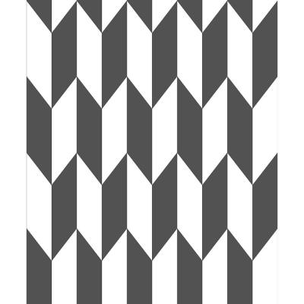 8 in. x 10 in. Roland Black Arrow Wallpaper Sample