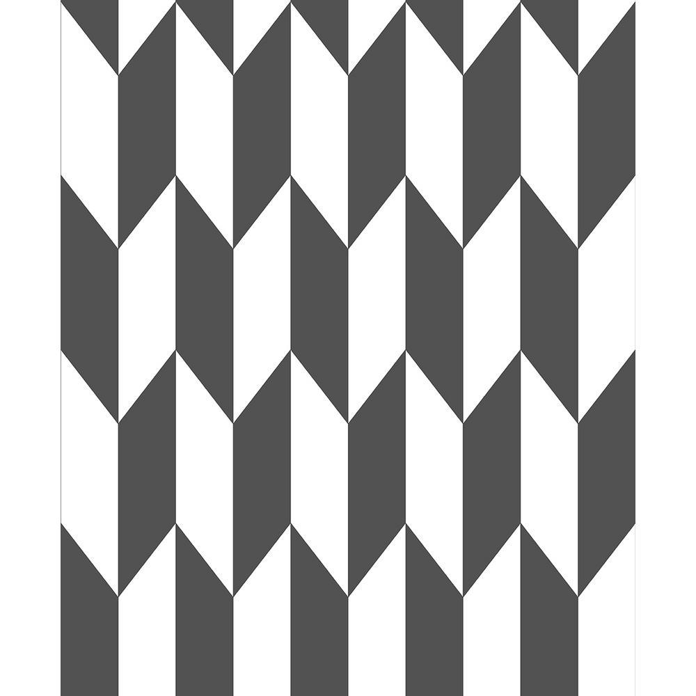 Advantage 8 in. x 10 in. Roland Black Arrow Wallpaper Sample