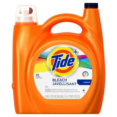 138 oz. Original Scent Liquid Laundry Detergent with Bleach Alternative (72-Loads)