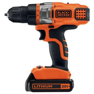 Black & Decker 20-Volt MAX Lithium-Ion Cordless Drill/Driver with Battery... by BLACK+DECKER