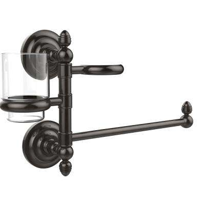 Que New Collection Hair Dryer Holder and Organizer in Oil Rubbed Bronze