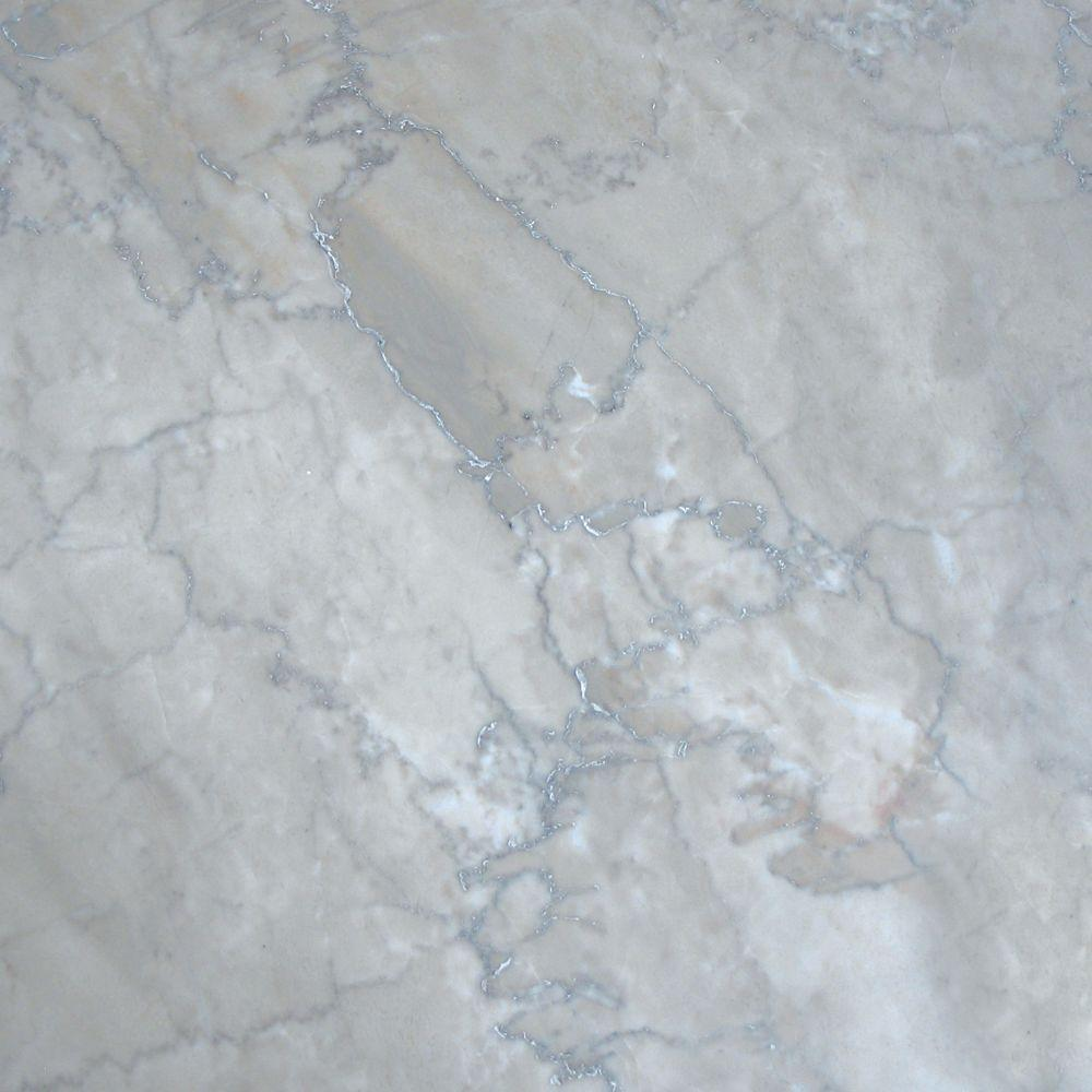 MS International Temple Grey 12 in. x 12 in. Polished Marble Floor and Wall Tile (5 sq. ft. / case)-DISCONTINUED