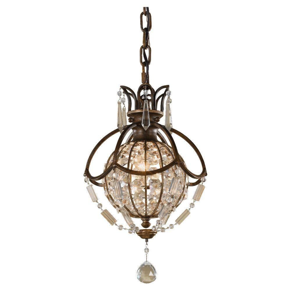 overstock shipping garden chrome polished free light today theresa crystal product crystorama mini home maria chandelier