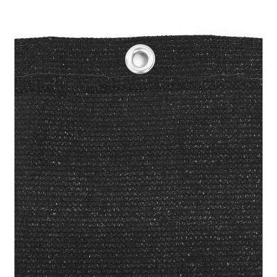 7.8 ft. x 150 ft. Black Privacy Screen