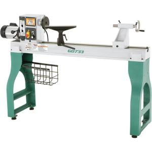 Grizzly Industrial 11 in  x 26 in  Bench Lathe with Gearbox-G9972Z