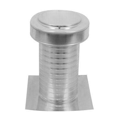 7 in. Dia Keepa Vent an Aluminum Roof Vent for Flat Roofs