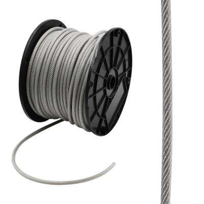 3/16 in. x 250 ft. Galvanized Vinyl Coated Steel Wire Rope