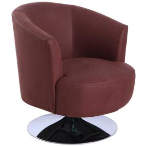 Relax R Tustin Cocoa Fabric Leisure Accent Chair