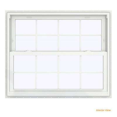 43 5 In X 35 V 2500 Series White Vinyl Double Hung Window