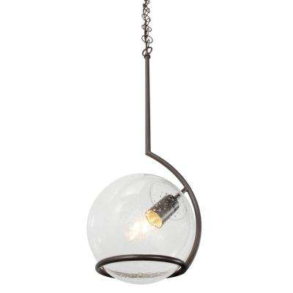 glass globe pendant lighting opal glass watson 1light metallic bronze minipendant with clear seedy glass globe pendant lights lighting the home depot