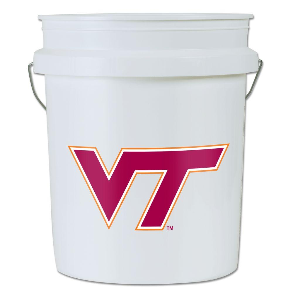 null Virginia Tech 5-gal. Bucket (3-Pack)
