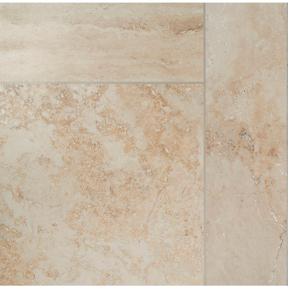 Fabulous MSI Paterno Pattern 20 in. x 20 in. Glazed Porcelain Floor and  RI64