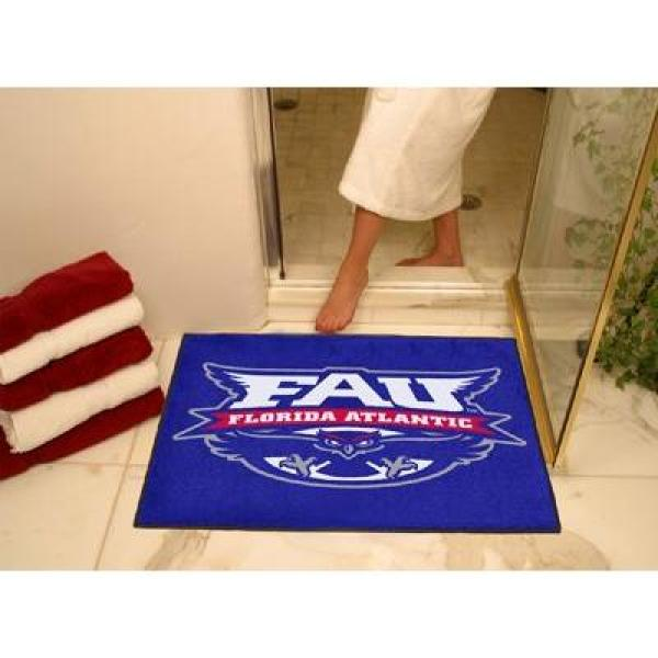 Middle Tennessee State MTSU Tailgate Area Rug 5 x 6