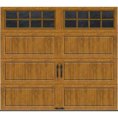 Gallery Collection Insulated Long Panel Garage Door with SQ24 Window