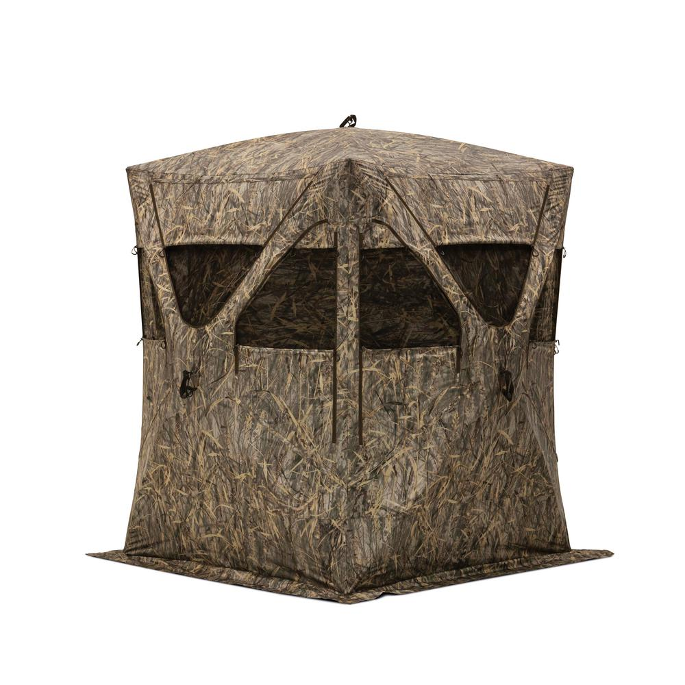 Big Mike Pop-Up Portable Hunting Blind in BloodTrail Camo
