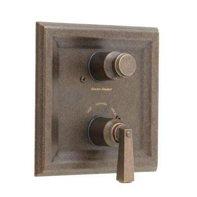 Town Square 2-Handle Thermostat Valve Trim Kit in Oil Rubbed Bronze (Valve Not Included)