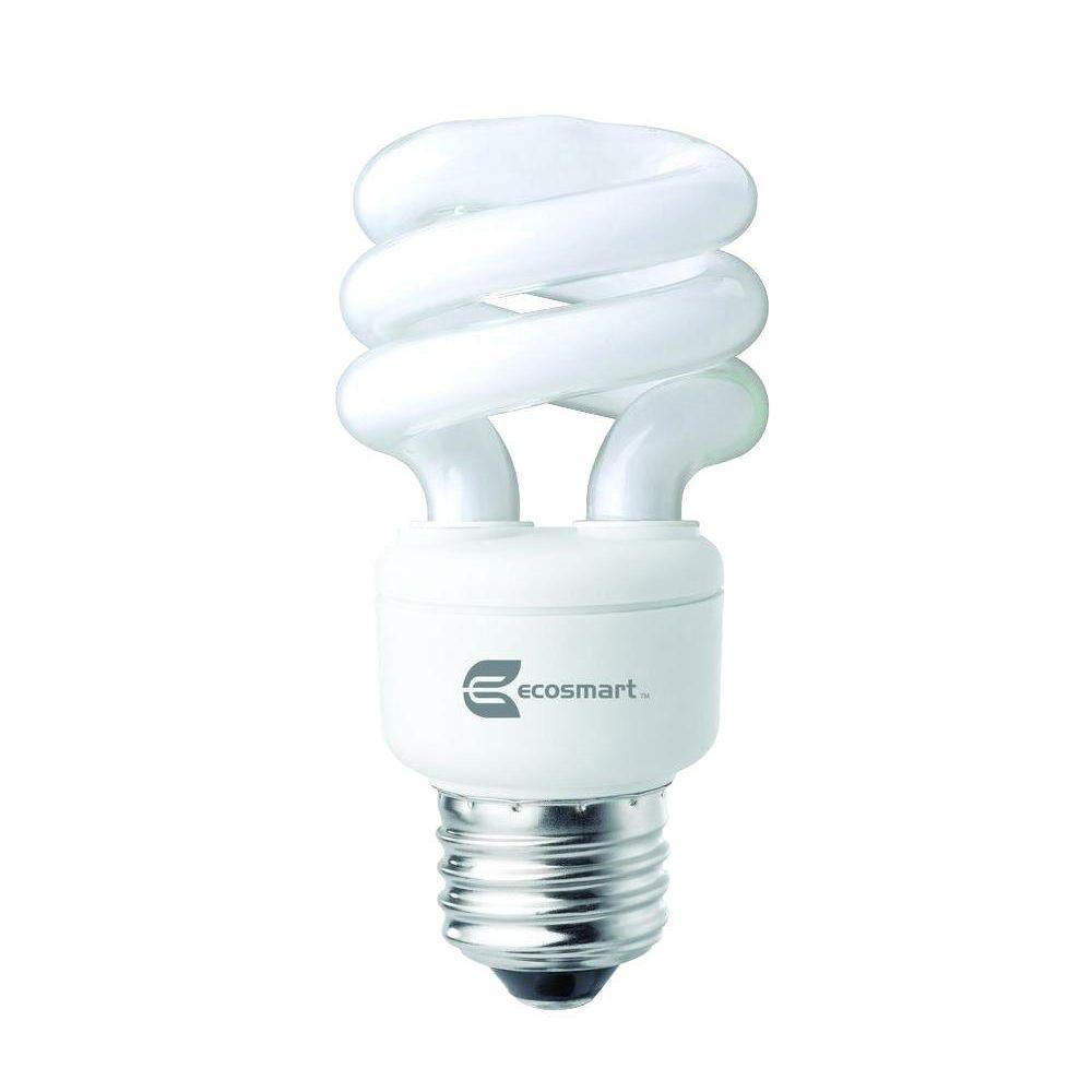 TCP 40W Equivalent Soft White  Spiral CFL Light Bulb (12-Pack)