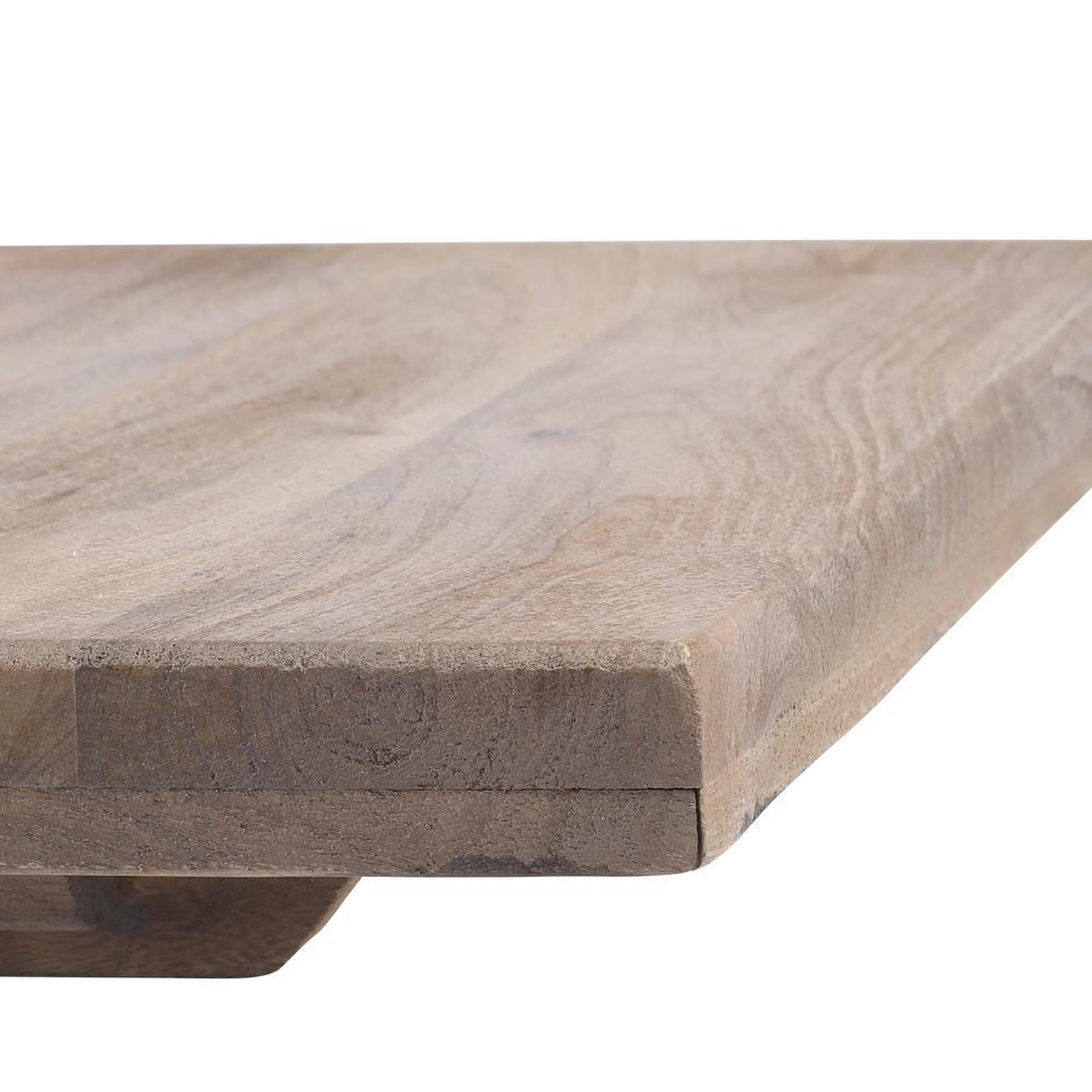 Internet #206083380. +2. Home Decorators Collection Aldridge Antique Grey  End Table