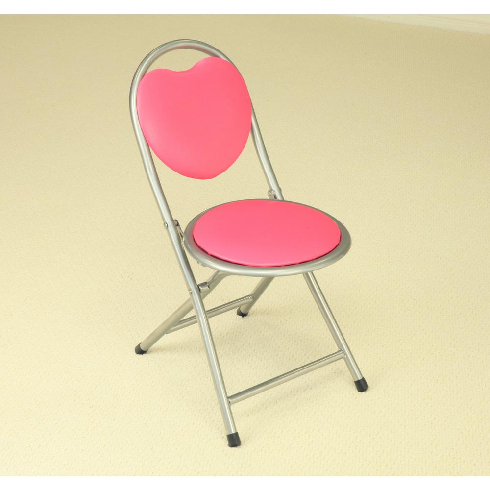 Homecraft Furniture Homecraft Furniture Pink Folding Kids Chair