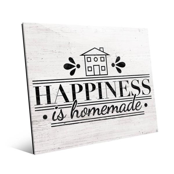 graphic regarding Happiness is Homemade named 20 inside of. x 24 within. \