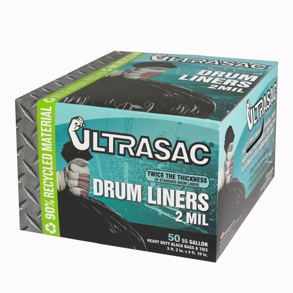 18 mil Natural Drum Liner 55 gal