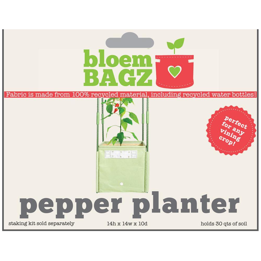 8 Gal. Living Green Fabric Pepper Planter Bag