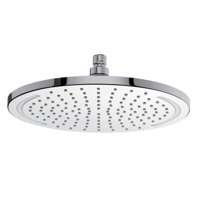 Technolight 1-Pattern 2.5 GPM 11.81 in. Ceiling Mount Round Shower Head with LED Light in Chrome