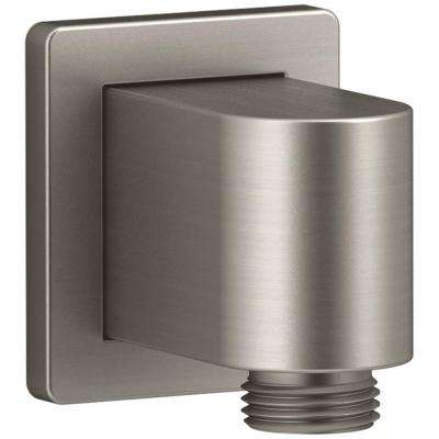 Awaken Wall-Mount Supply Elbow in Vibrant Brushed Nickel