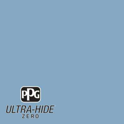 1 gal. #HDPB59 Ultra-Hide Zero Country House Blue Semi-Gloss Interior Paint