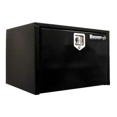 Black Steel Underbody Truck Box with T-Handle Latch, 14 in. x 16 in. x 30 in.