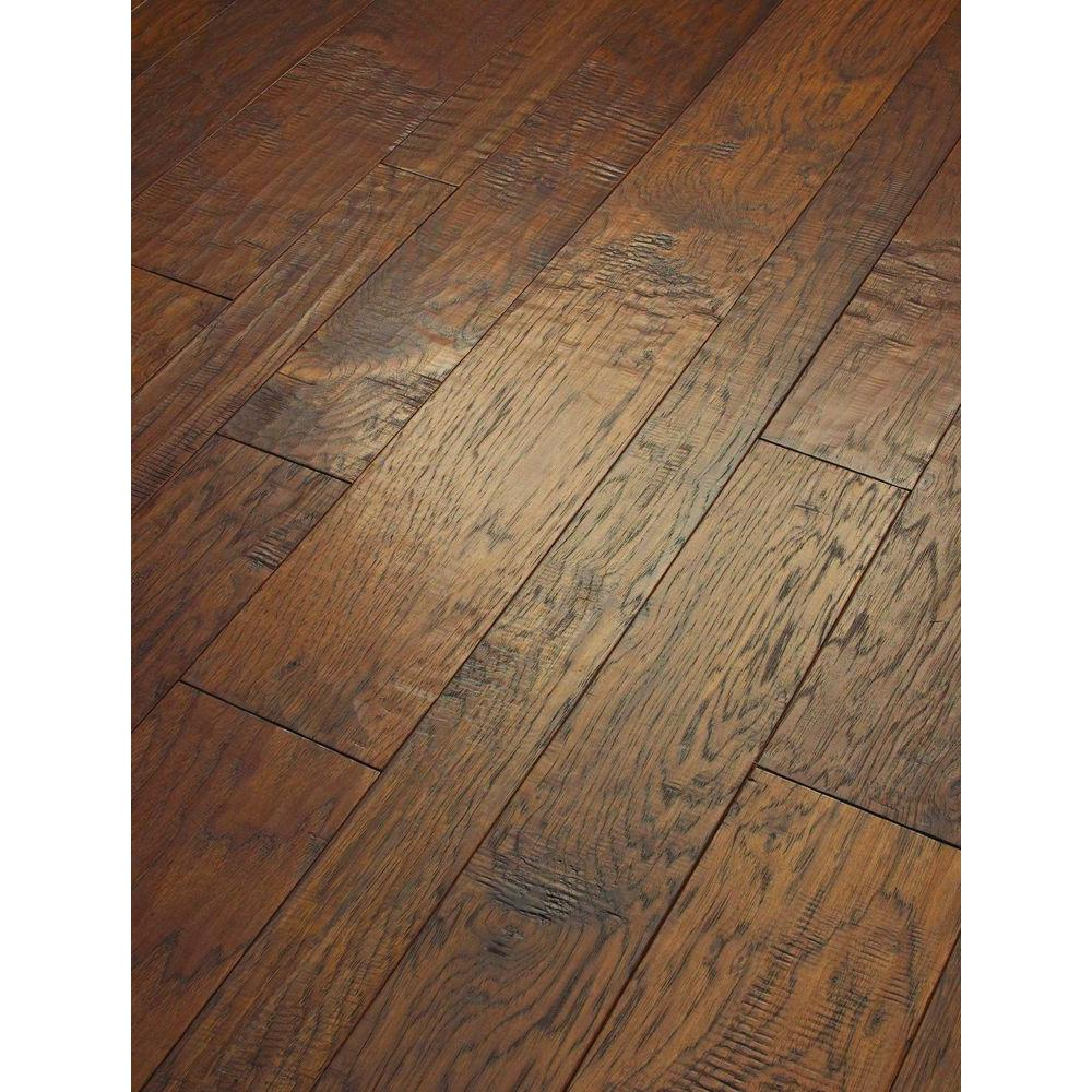 Shaw Drury Lane Caramel 3/8 in. Thick x Varying Width and Length Engineered Hardwood Flooring (34.69 sq. ft. / case)