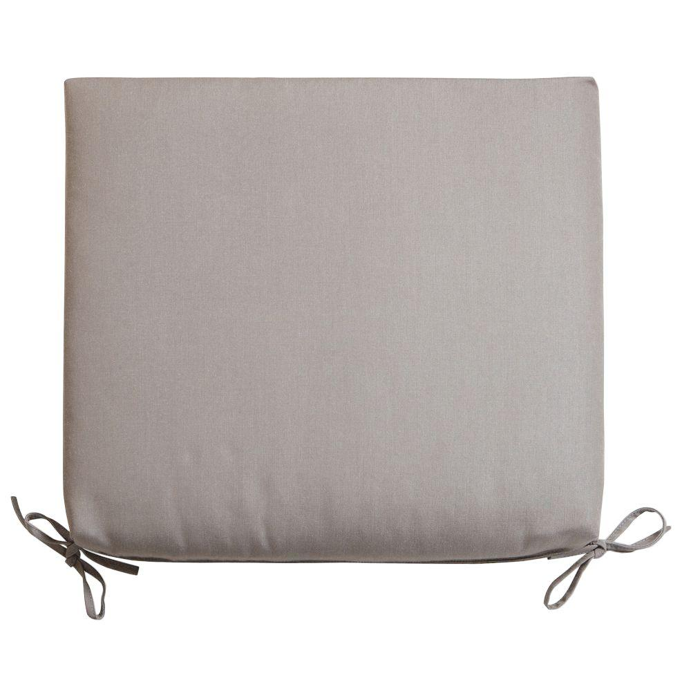 RST Brands Taupe 19 in. x 18 in. Outdoor Chair Cushion