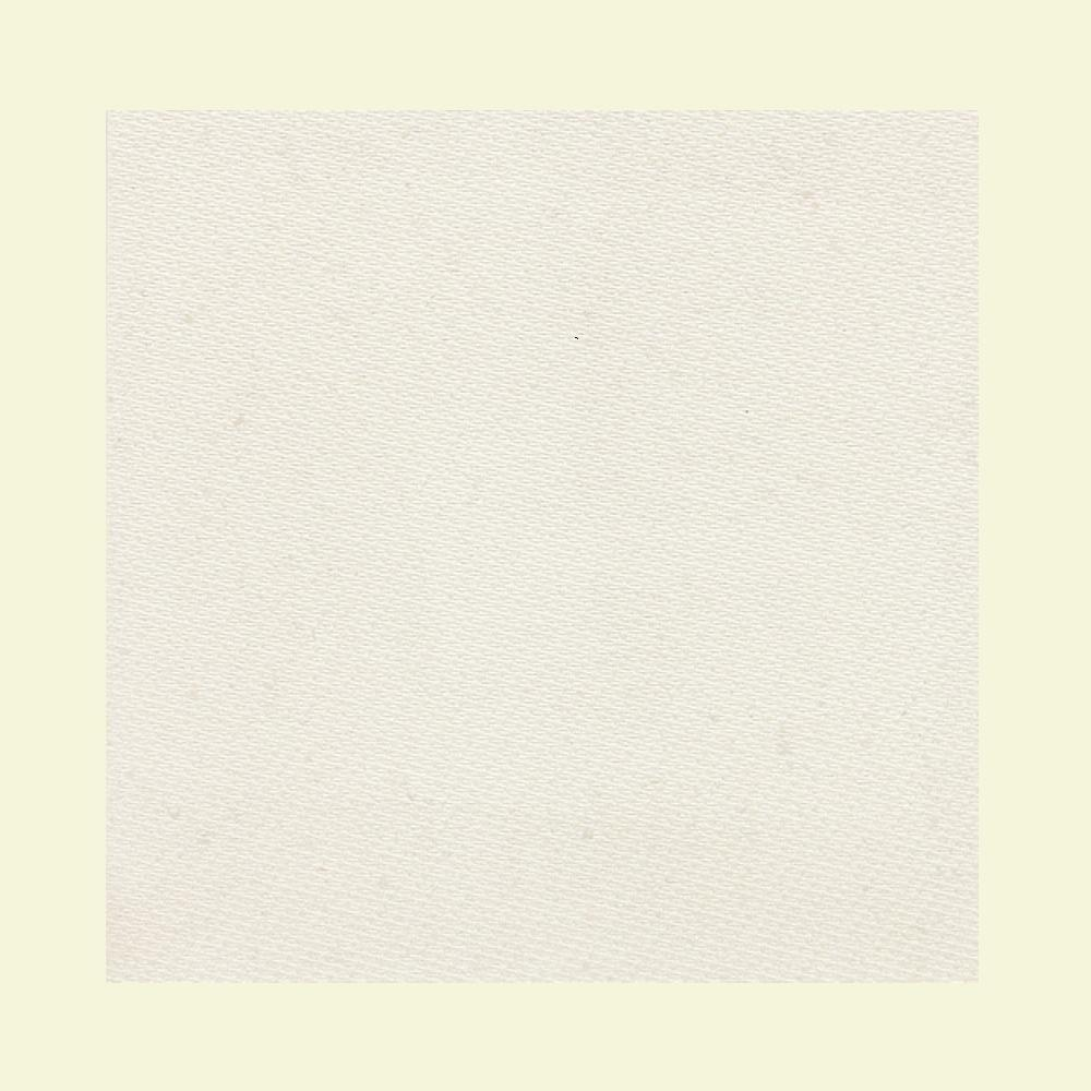 Daltile Identity Paramount White Fabric 24 in. x 24 in. Polished Porcelain Floor and Wall Tile (15.49 sq. ft. / case)