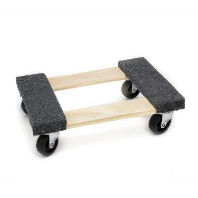 18 in. x 12 in. Heavy Duty Hardwood Dolly for Moving Furniture (1000 lbs Capacity)