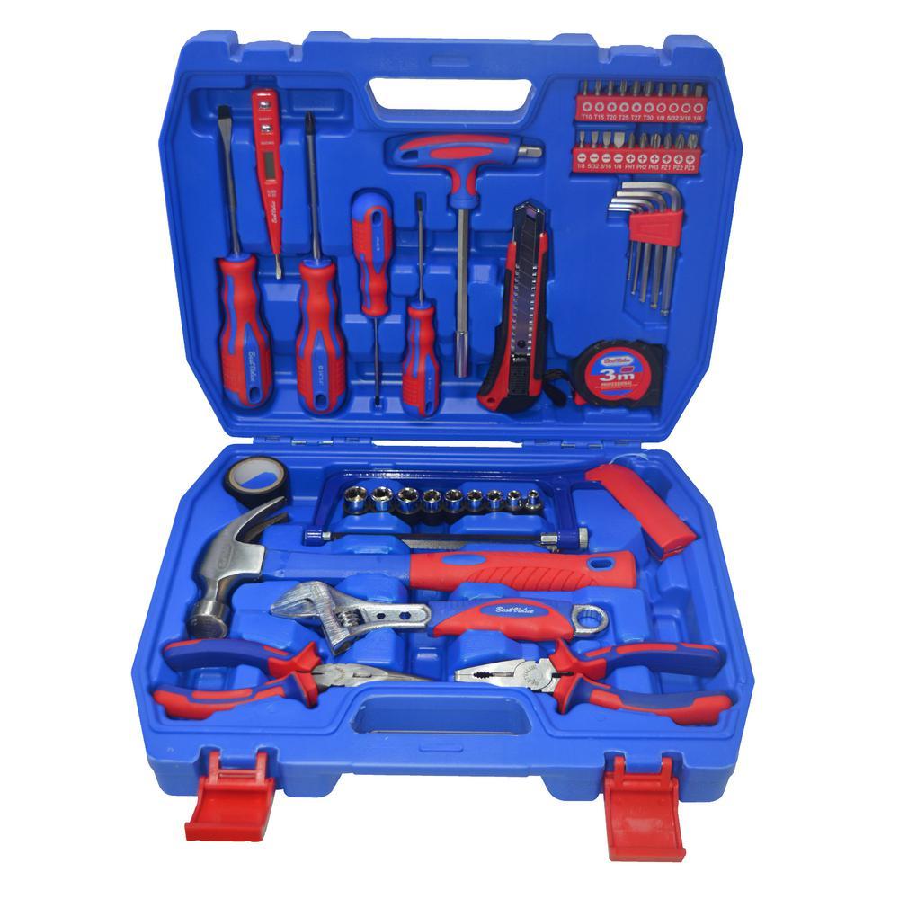 Home Tool Kit Tool Set (49-Piece)