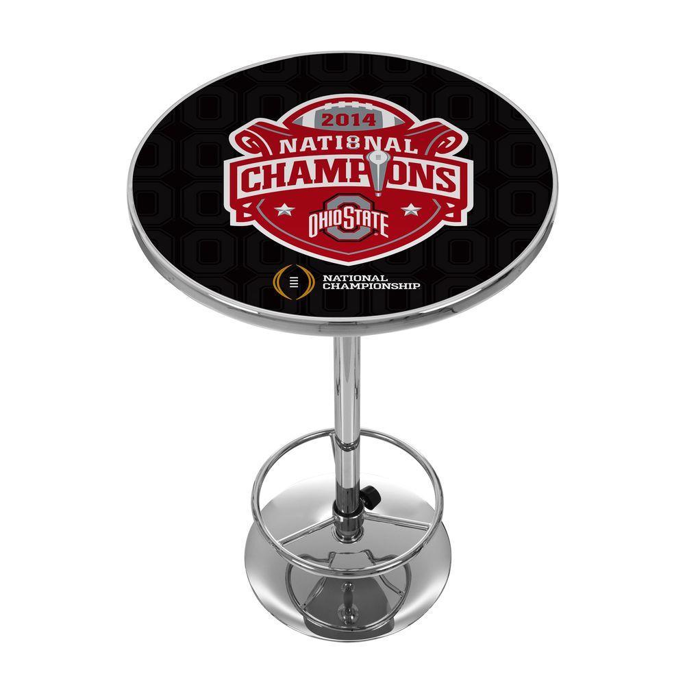 OSU National Champions Chrome Pub/Bar Table