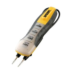 Sperry 80-480 VAC/DC 4-Range Voltage Tester by Sperry