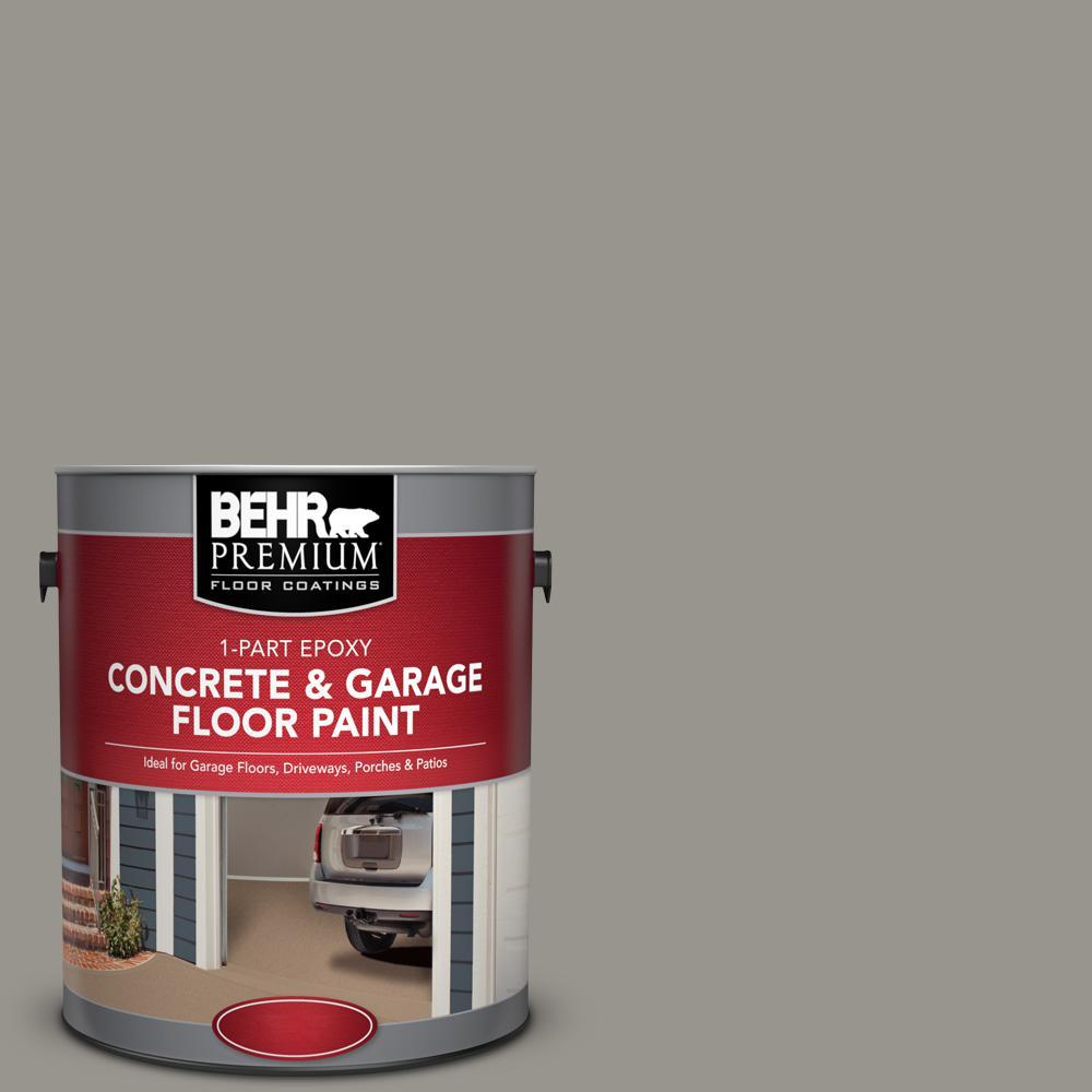 1 gal. #N360-4 Battleship Gray 1-Part Epoxy Concrete and Garage Floor Paint
