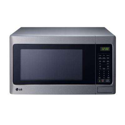 1.5 cu. ft. Countertop Microwave in Stainless Steel with Sensor Cooking