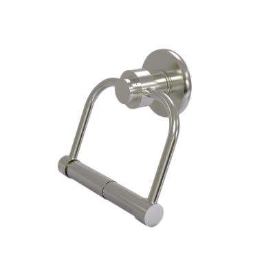 Mercury Collection Single Post Toilet Paper Holder in Satin Nickel