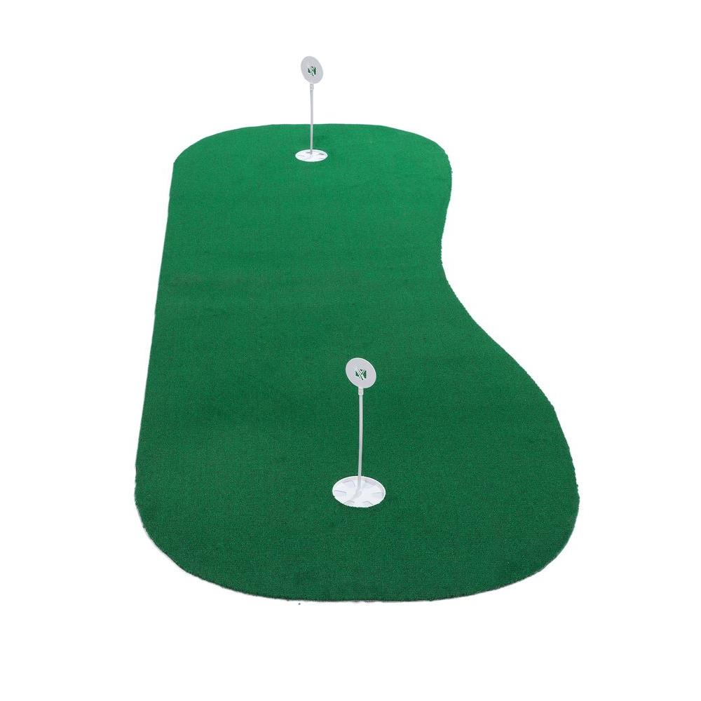 DuraPlay 3 ft. x 8 ft. PRO Indoor and Outdoor Synthetic Turf Golf Practice Putting Green