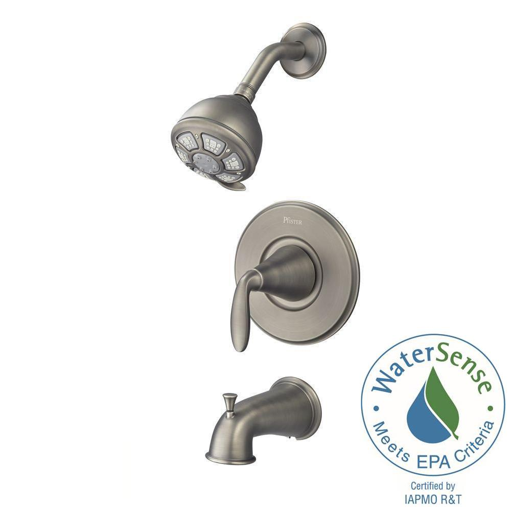 Pfister Pasadena Single-Handle 3-Spray Tub and Shower Faucet in ...