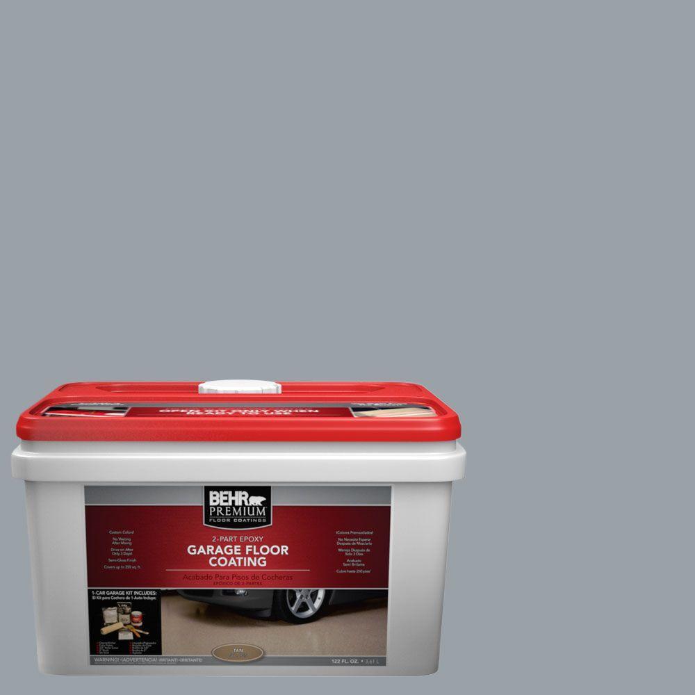 BEHR Premium 1-gal. #PFC-57 Silver Spur 2-Part Epoxy Garage Floor Coating Kit