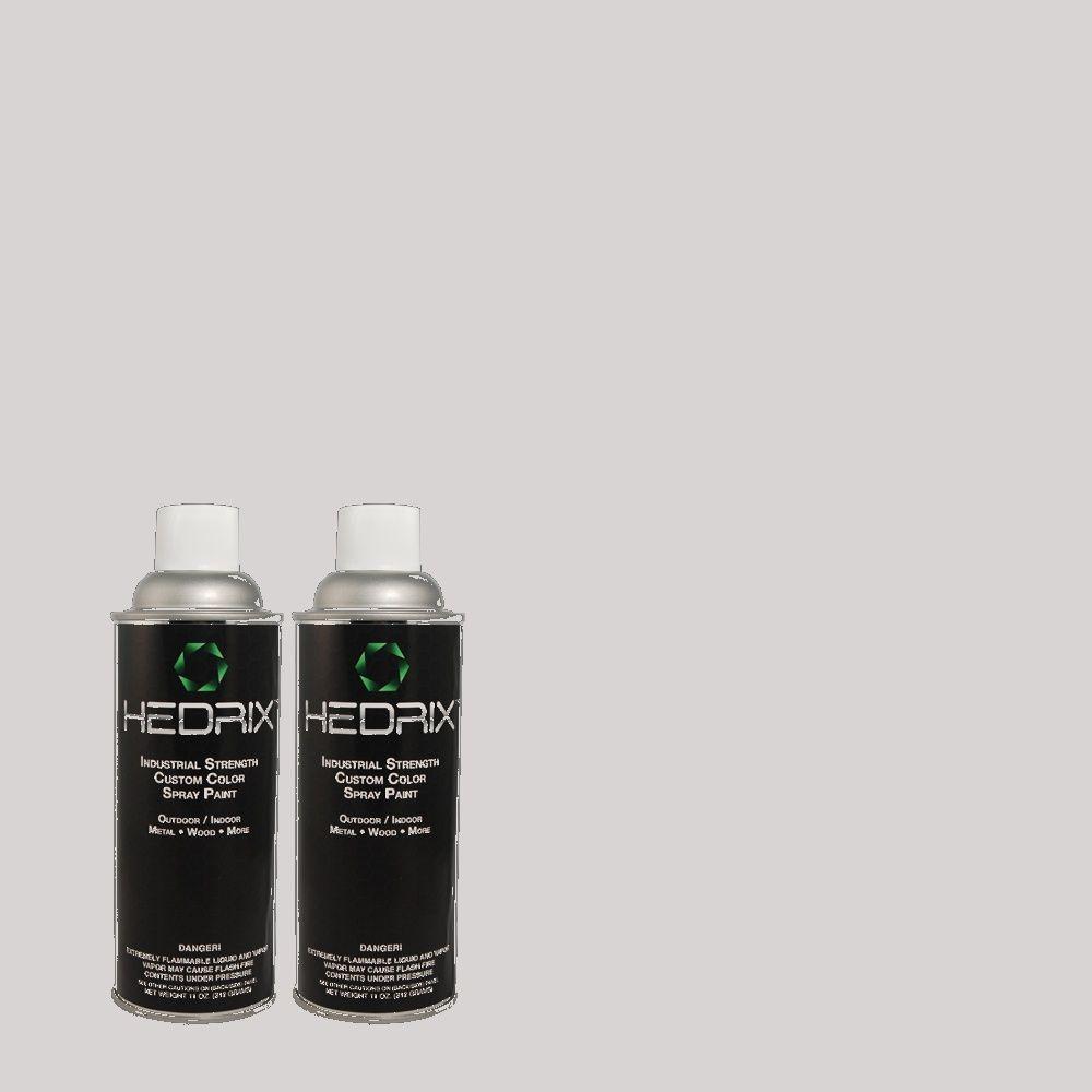 Hedrix 11 oz. Match of MQ3-61 Moonlit Snow Gloss Custom Spray Paint (8-Pack)