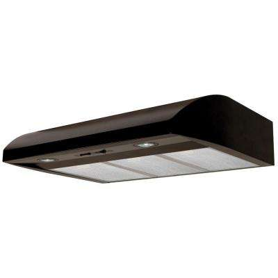 Essence 36 in. Convertible Range Hood in Black