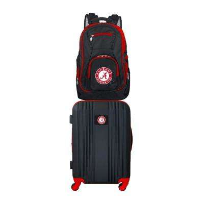 NCAA Alabama Crimson Tide 2-Piece Set Luggage and Backpack