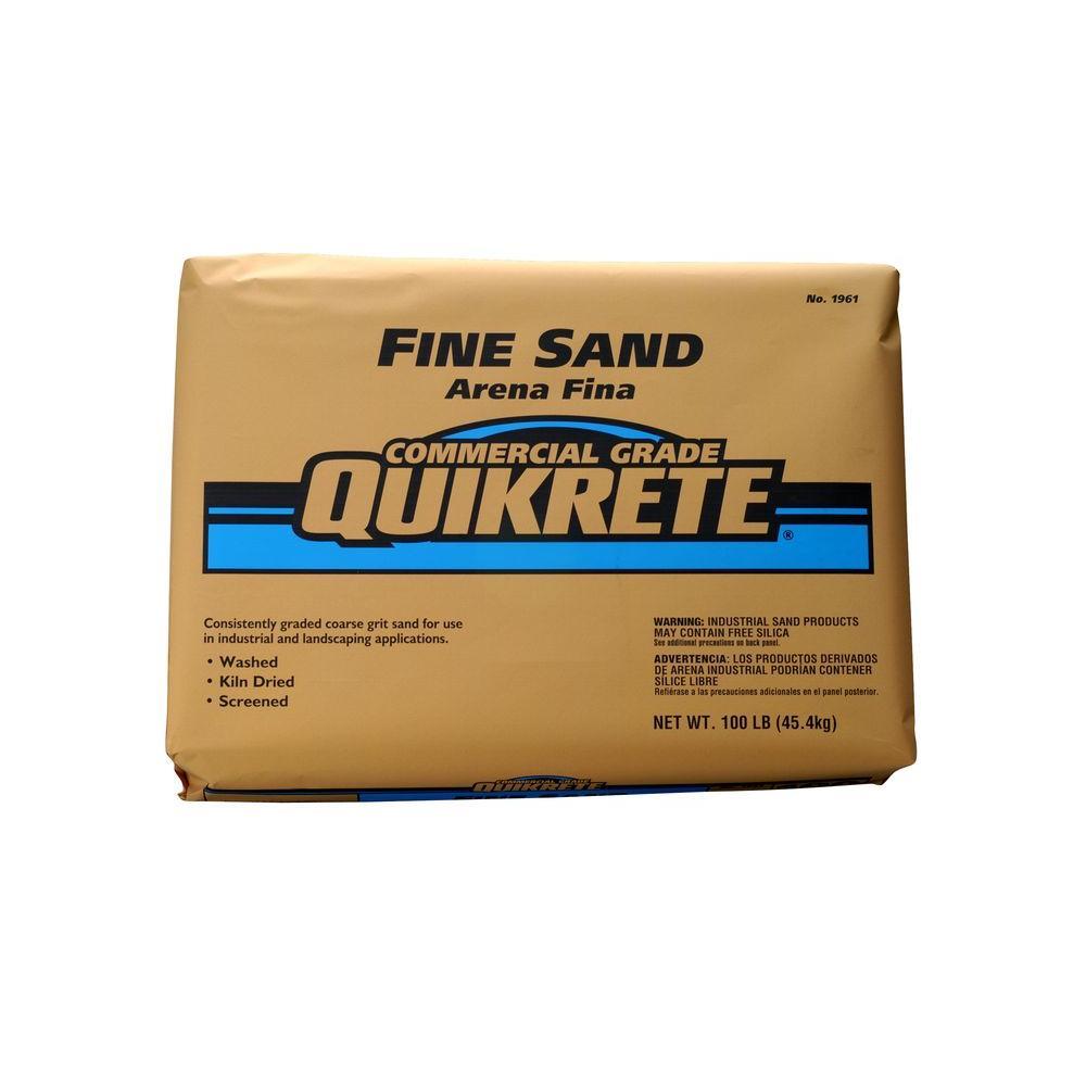 Quikrete 100 lb. Fine Sand